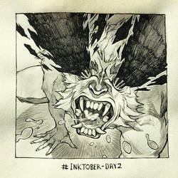 Inktober Day 2 by HJeojeo