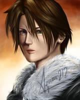 SQUALL LEONHEART portrait by Azumi212