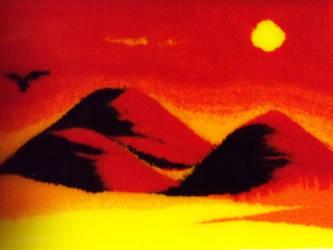 The world on fire by TiBun