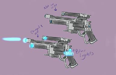 Vae's Blaster Refs by TiBun