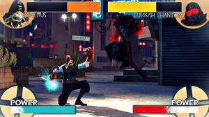Team Fighter 2 - Therus vs Turkish Phantom by Robogineer