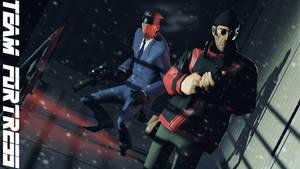 Team Metal Gear Fortress by Robogineer