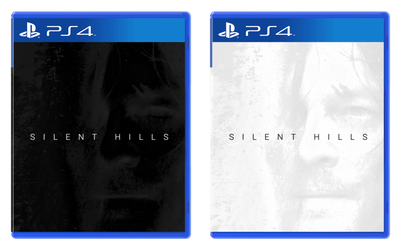 Silent Hills PS4 Cover by Robogineer