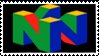 Nintendo 64 Stamp by Teeter-Echidna