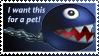 Chain Chomp Stamp by Teeter-Echidna