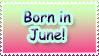 Born in June by Teeter-Echidna