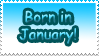 Born in January by Teeter-Echidna