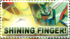 SHINING FINGER Stamp by Teeter-Echidna