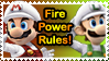 Fire Power Stamp by Teeter-Echidna