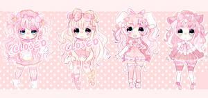 Pink adopt batch 8# Set price (OPEN) by Bai-Jiu