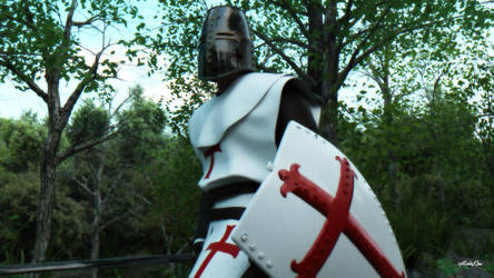 The Unknown Crusader - Through The Woods by cyNickalCyn