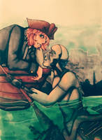 Fo4: The Captain and Mermaid : OC x Canon by PandaSakura