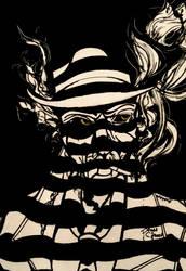 Scrawler Box: Nick Valentine: Jazz Noir Challenge by PandaSakura