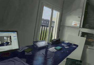 my room studies by paooo