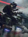galaxy saga - gravity rider01 by paooo