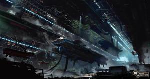 Strike vector hangar by paooo