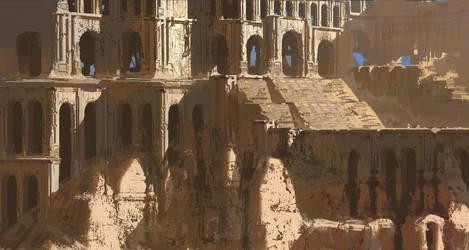 Giant ruin by paooo