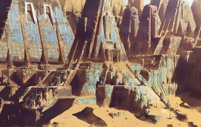 Desert ruins by paooo