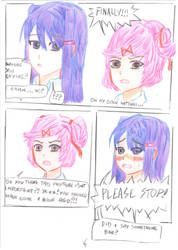 DDLC what happened after pg 4 by negriwtf by negriwtf