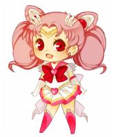 Sailor Chibi Moon by mjoyart