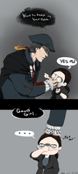 Don't boop a Kenway by TheLizAngel