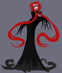 Red Sorceress by TheLizAngel