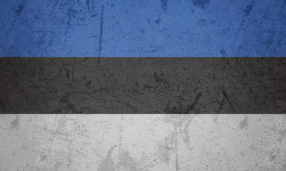Estonia grunge flag by KisaragiIvanov