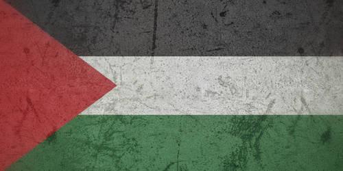 Palestine grunge flag by KisaragiIvanov