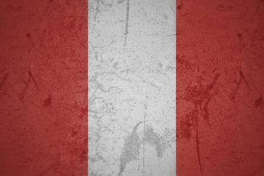 Peru grunge flag by KisaragiIvanov