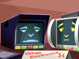 Vintage Electronics by ChadRocco