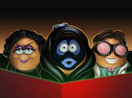 Halloween McTGWTG Buddies by ChadRocco