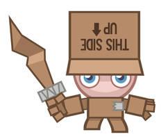 Moshi Box Knight by ChadRocco