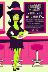 Mom-sters 2017: Linda Witch by ChadRocco