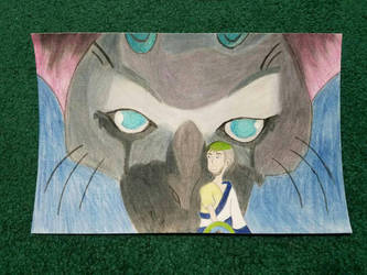 Trico and Jacksepticeye  by rainbowgayxia