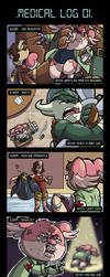 Ratchet's Medical Log by Oniwanbashu