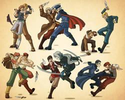 End Run: Fight Club by Oniwanbashu