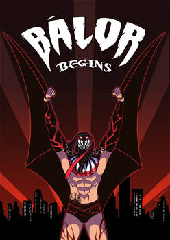 WWE: Balor Begins by Oniwanbashu