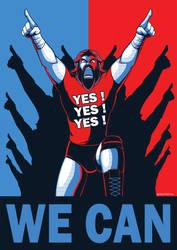 WWE: Yes We Can by Oniwanbashu