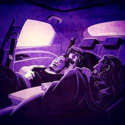 WWE: Twilight by Roadside by Oniwanbashu