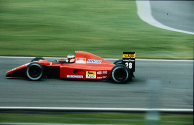 Jean Alesi (Great Britain 1991) by F1-history