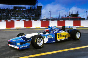 Michael Schumacher (Brazil 1995) by F1-history