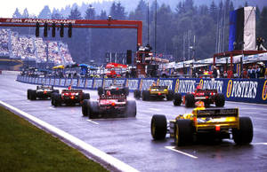 1998 Belgian Grand Prix Start by F1-history