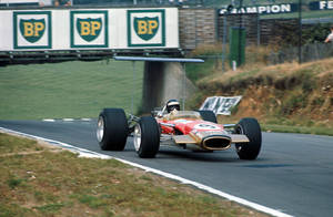 Jackie Oliver (Great Britain 1968) by F1-history