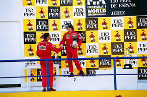 Nigel Mansell | Alain Prost (Spain 1990) by F1-history