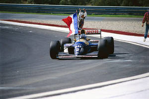 Alain Prost (Portugal 1993) by F1-history
