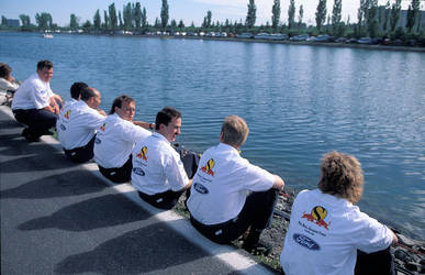 Red Bull Sauber Crew (Canada 1995) by F1-history