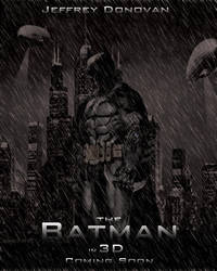 The Batman Movie Poster by Rated-R4-Ryan