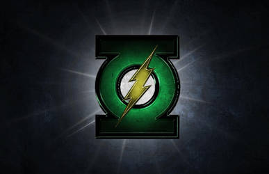 Flash/Green Lantern Logo - Version A by Rated-R4-Ryan
