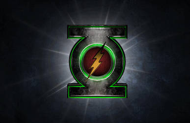 Flash/Green Lantern Logo - Version B by Rated-R4-Ryan