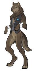Werewolf in a Waistcoat by LadyZolstice